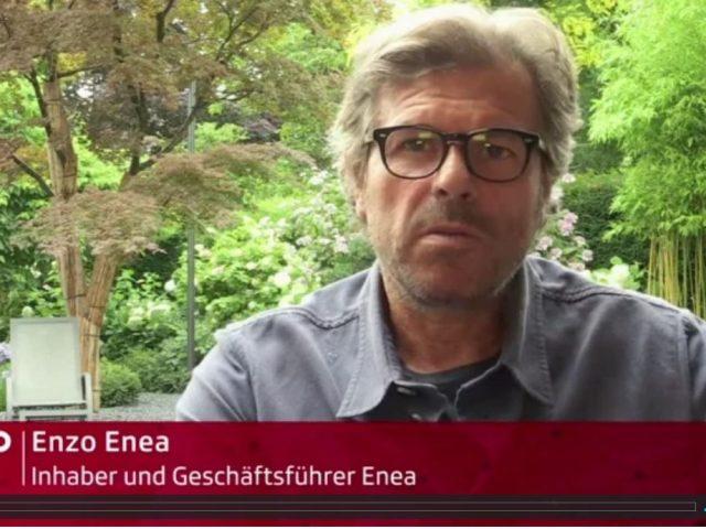 Enzo Enea in der Reportage des Wirtschaftsmagazins ECO von SRF