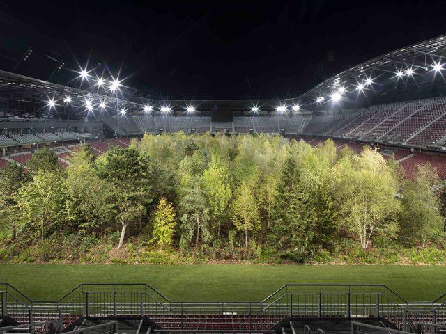 A temporary art intervention by Klaus Littmann, implemented by Enea Landscape Architecture